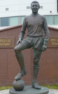 Jimmy Armfied statue