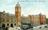 Nottingham's Victoria Station, where John Sands was found to be dead