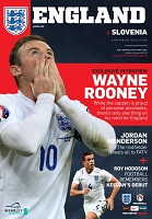 Image result for england slovenia programme 2014